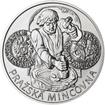 Pražská mincovna - stříbro 28mm b.k.