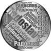 Česká jména - Radoslav - velká stříbrná medaile 1 Oz