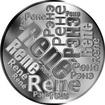 Česká jména - René - velká stříbrná medaile 1 Oz