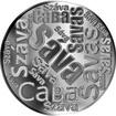 Česká jména - Sáva - velká stříbrná medaile 1 Oz