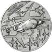 Sergej Vladimirovič Iljušin - 120. výročí narození stříbro patina