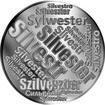 Česká jména - Silvestr - velká stříbrná medaile 1 Oz