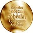 Česká jména - Soběslav - zlatá medaile