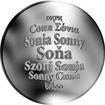 Česká jména - Soňa - velká stříbrná medaile 1 Oz