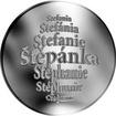 Česká jména - Štěpánka - stříbrná medaile