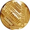 Česká jména - Svatomír - velká zlatá medaile 1 Oz