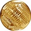 Česká jména - Vavřinec - velká zlatá medaile 1 Oz