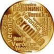 Česká jména - Veronika - velká zlatá medaile 1 Oz