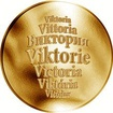 Česká jména - Viktorie - zlatá medaile