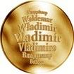 Česká jména - Vladimír - zlatá medaile