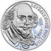 William Shakespeare - 450. výročí narození stříbro proof