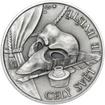 William Shakespeare - 450. výročí narození stříbro patina