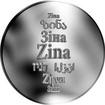 Česká jména - Zina - stříbrná medaile