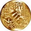 Česká jména - Zita - velká zlatá medaile 1 Oz