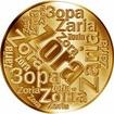 Česká jména - Zora - velká zlatá medaile 1 Oz
