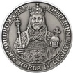 660 let od Korunovace Karla IV. českým králem - Ag patina