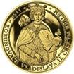 Korunovace Vladislava II českým králem - zlato Proof