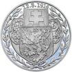 Založení československých legií - 100. výročí stříbro proof