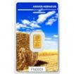 Zlatý slitek Argor Heraeus 1 gram FN léto 2017