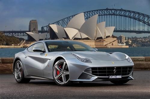 Ferrari F-12 Berlinetta - Australie, Sydney