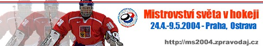 Mistrovství světa v hokeji 2004 - Praha, Ostrava, Česká republika