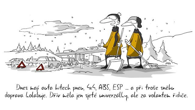 Vanocni Ponozky Kresleny Vtip