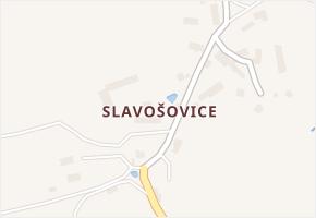 Slavošovice v obci Bolešiny - mapa části obce