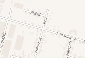 Štefanikova v obci Boskovice - mapa ulice