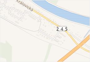 Antonína Bečváře v obci Brandýs nad Labem-Stará Boleslav - mapa ulice