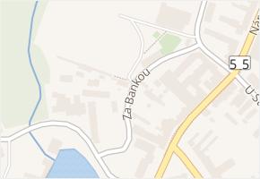 Za Bankou v obci Břeclav - mapa ulice