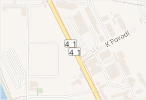 Hněvkovského v obci Brno - mapa ulice