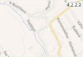 Příční v obci Buchlovice - mapa ulice