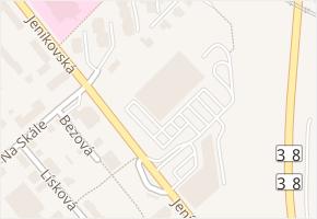Jeníkovská v obci Čáslav - mapa ulice