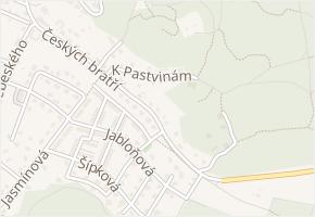 Českých bratří v obci Česká Lípa - mapa ulice