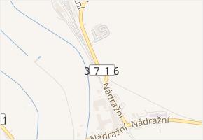 Nádražní v obci Chornice - mapa ulice