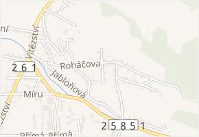 Štefanikova v obci Děčín - mapa ulice