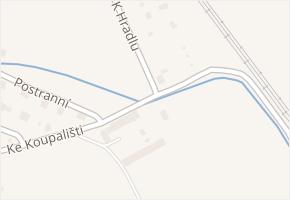 Ke Koupališti v obci Děhylov - mapa ulice