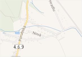 Postranní v obci Děhylov - mapa ulice