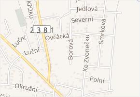 Krátká v obci Doksy - mapa ulice