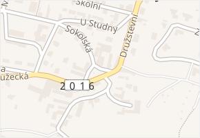 U kapličky v obci Doksy - mapa ulice