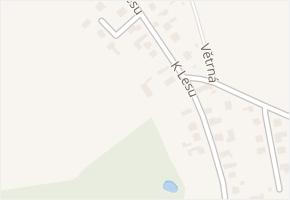 K Lesu v obci Hradec Králové - mapa ulice