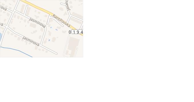 Jasmínová v obci Jihlava - mapa ulice