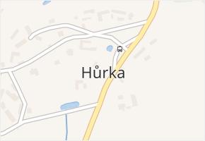 Hůrka v obci Jistebnice - mapa části obce
