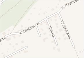 Pod Krásnou strání v obci Karlík - mapa ulice