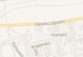 Koněvova v obci Karlovy Vary - mapa ulice