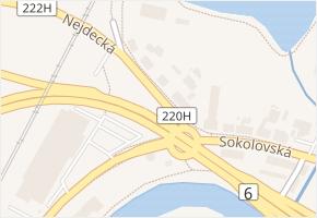 Nejdecká v obci Karlovy Vary - mapa ulice