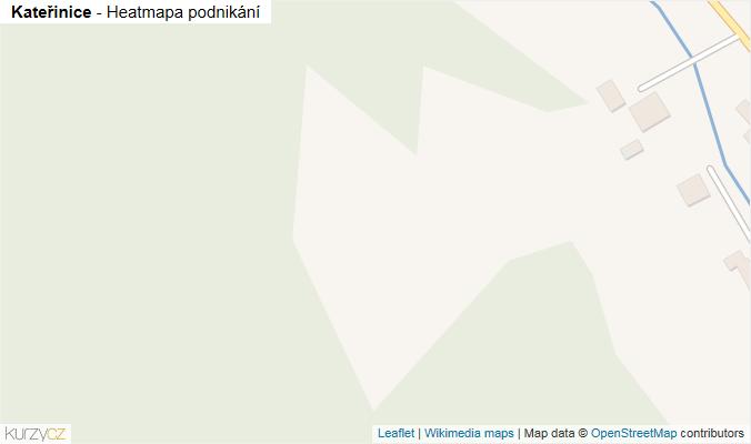 Mapa Kateřinice - Firmy v obci.