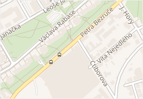 Ctiborova v obci Kladno - mapa ulice