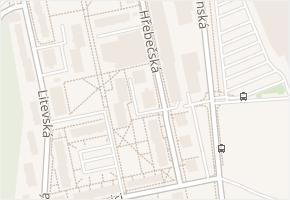 Hřebečská v obci Kladno - mapa ulice