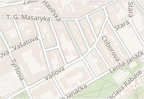 Osvoboz. pol. vězňů v obci Kladno - mapa ulice